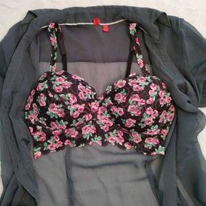 PINK Victoria's Secret lace bralette
